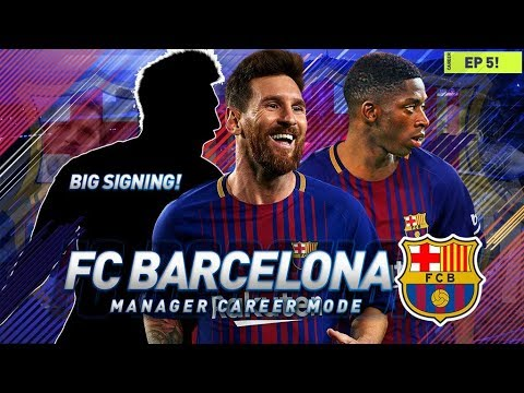 FIFA 18 Barcelona Career Mode - EP5 - HUGE RECORD SIGNING - LA LIGA SEASON BEGINS