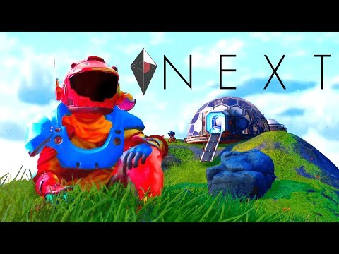 UNDERWATER BASE, OCEAN PLANETS, CHARACTER CUSTOMIZATION | No Man's Sky Next (NMS New Update Gameplay