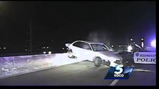 Edmond police release dash cam video from chase