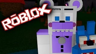 ROBLOX ANIMATRONIC WORLD | FNAF MAPS & SISTER LOCATION FUNTIME FREDDY
