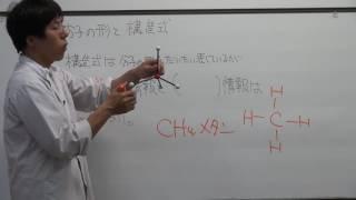 【化学基礎】分子の形と構造式