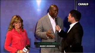 "Magic Johnson: ""Messi is my favorite, he"