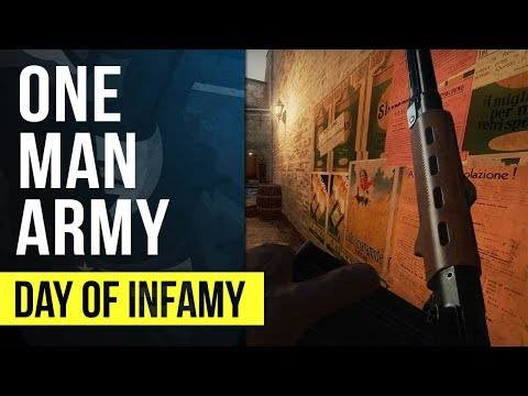 ONE MAN ARMY! | Day of Infamy Gameplay