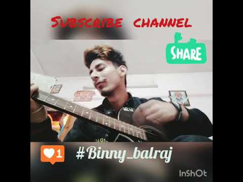 Ishqan De Lekhe // Guitar Cover // Sajjan Adeeb #Binny_balraj