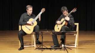 Dieci Ramelli Guitar Duo play Pavane pour une infante défunte by Ravel