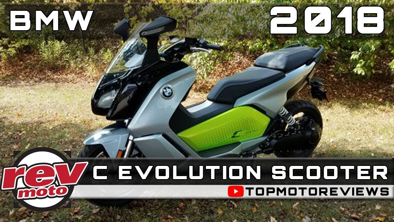2018 bmw c evolution scooter review rendered price release date