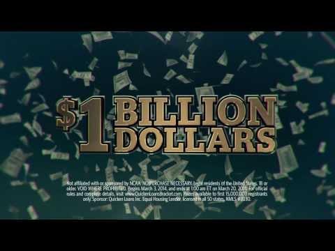 Quicken Loans Billion Dollar Bracket with Yahoo! Sports :15 | Quicken Loans Commercials
