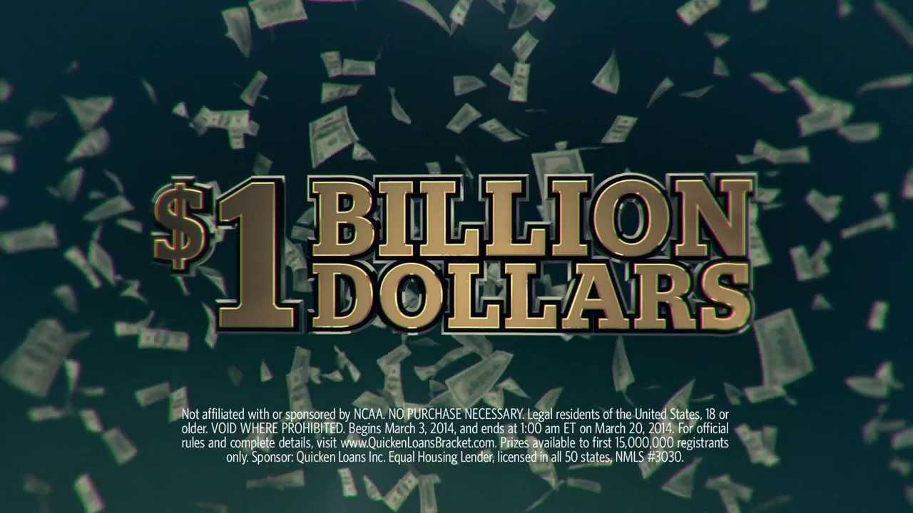 Yahoo bracket billion