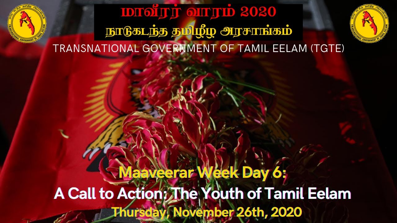 Maaveerar Week Day 6: The Youth of Tamil Eelam
