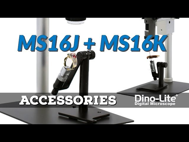Subject Holders: MS16J & MS16K | Dino-Lite Accessories