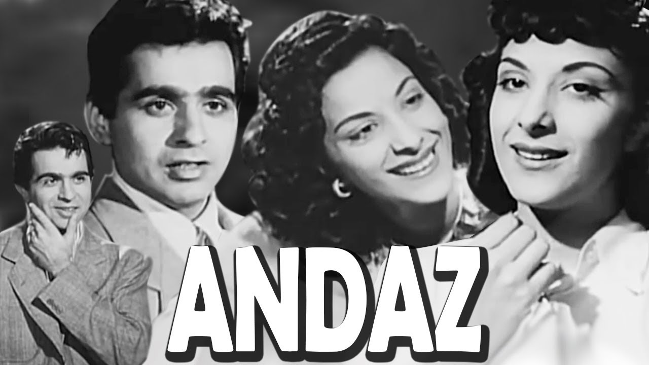 Andaz | Full Movie | Nargis | Dilip Kumar | Raj Kapoor | Old Hindi Movie