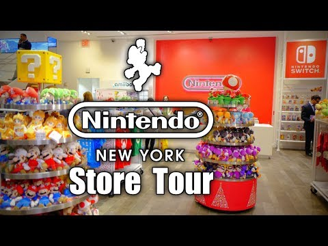 ULTIMATE Nintendo NY Store Tour