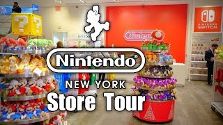 ULTIMATE Nintendo NY Store Tour 2018