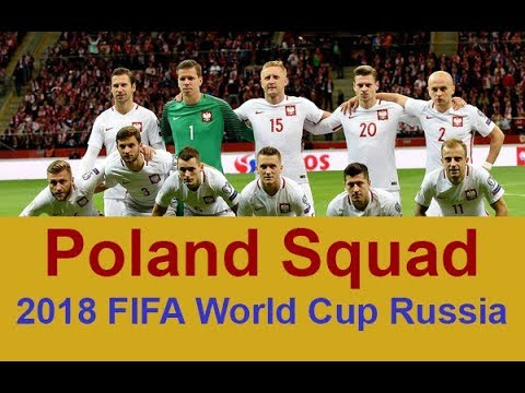 World Cup 2018 Squad Official