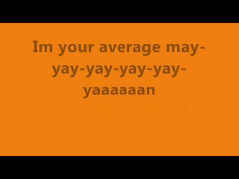 Average Man - Reel Big Fish Lyrics
