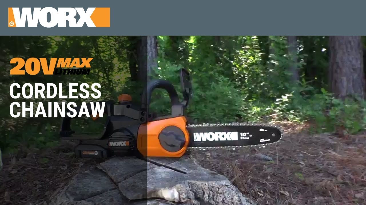 2019 — Best Cordless Chainsaw? ▻New 100V Chainsaw from Sun Joe