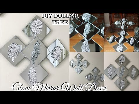 DOLLAR TREE DIY GLAM & MIRROR DECOR | DIY HOME DECOR 2019 💎💎