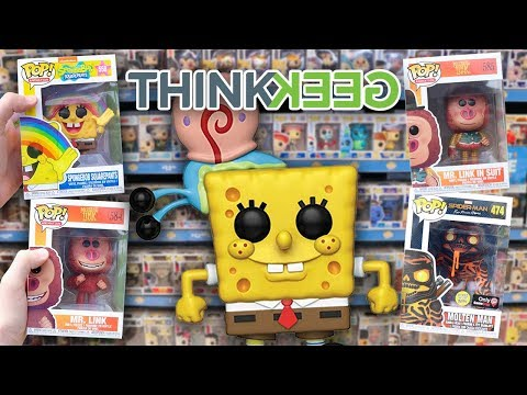 Funko Pop Hunting  Spongebob Missing Link and More