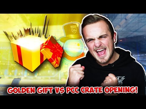 OPENING 20 NEW GOLDEN GIFT CRATES VS 20 PLAYER'S CHOICE CRATE OPENING IN ROCKET LEAGUE! thumbnail
