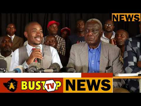 MDC-T Acting Pres Nelson Chamisa apologies to Mai Khupe