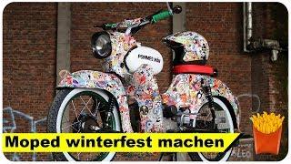 Simson winterfest machen ANLEITUNG