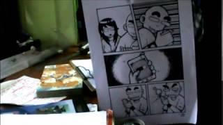процес малювання інструкція 1-сторінковий комікс лисого