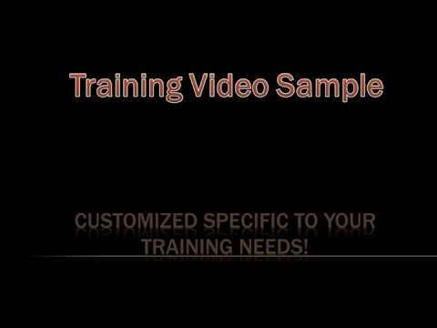 Training Video Sample