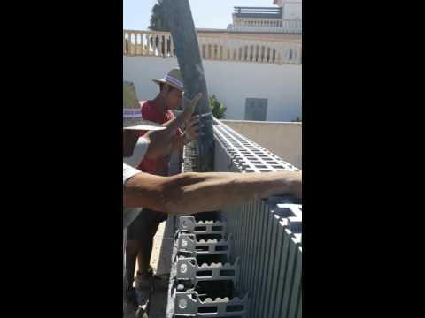 StyroStone ICF concrete pour Moraira4