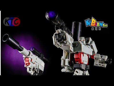 3rd Party/KO Transformers | Kubianbao KBB Walthertron (KO Megatron) Review