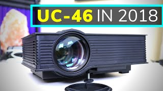uC-46 Wireless Wifi LED Projector Review in 2018