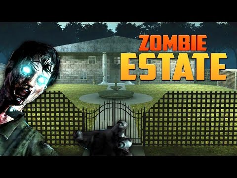 ZOMBIE ESTATE ★  Call of Duty Zombies Mod (Zombie Games)