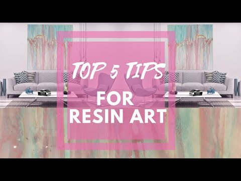 Tips for Resin Artists | Painting Time Lapse