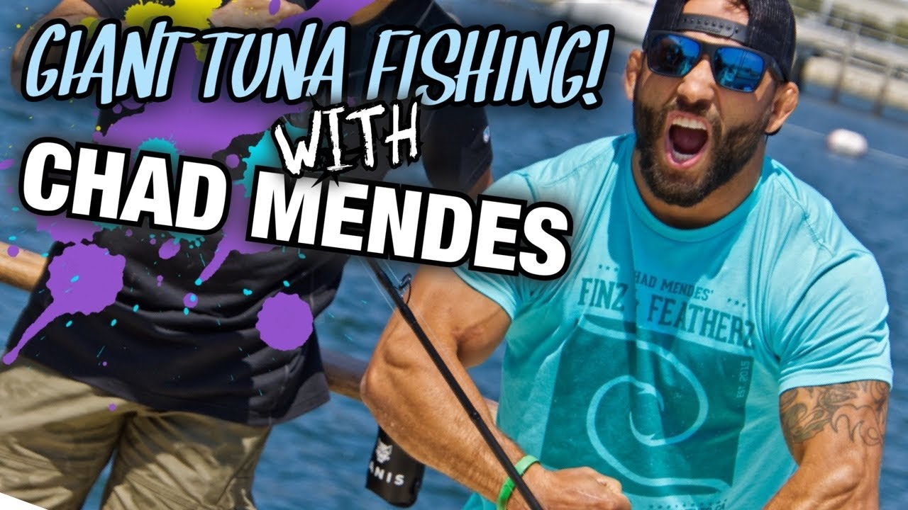 CATCHING 100+lb TUNA on ROD AND REEL!! (CRAZY!!) // Finz and Featherz Trip // Whitetail Fit