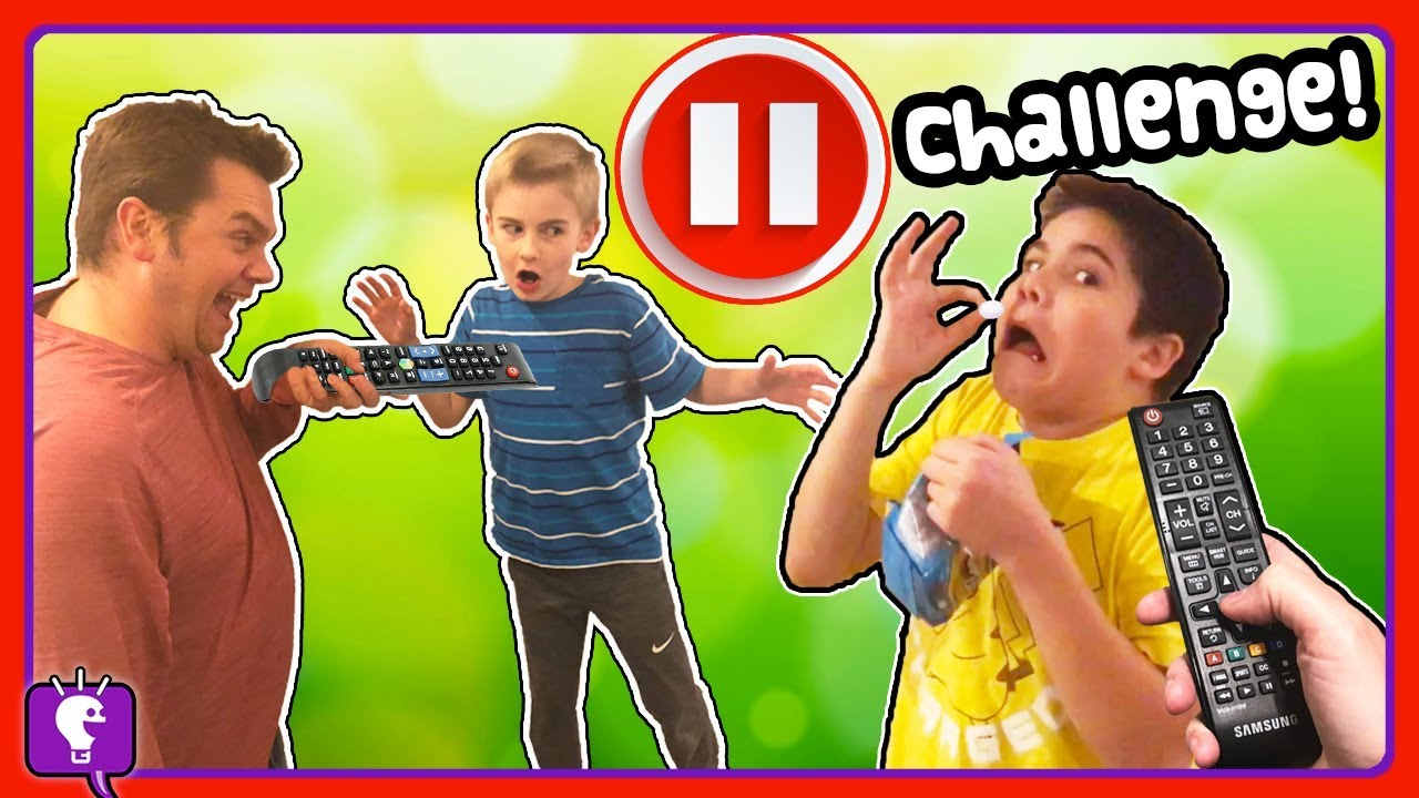 PAUSE CHALLENGE for 24 Hours on the HobbyKids!