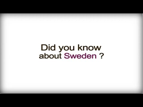 Did you know? - Sweden - Swedish Business Culture video