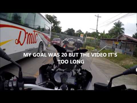 OnBoard R1200GSA - Bohol Ride with the Guys Part 2