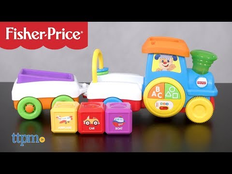 Laugh & Learn First Words Crawl-Along Train From Fisher-Price