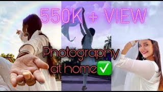 Selfie poses in Dupatta and Salwar suit at home with nature , picture ideas for Instagram 🌸🌼 screenshot 3
