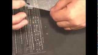 Parchment Craft- PCA 33 Perforating Punch Tool Demonstration