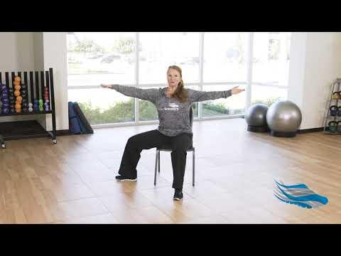 Chair Based Yoga Poses