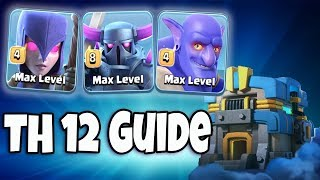 Th12 War Base Attack Strategy Town Hall12 War Base 3 Star Attack Startegy Clash Of Clans Easy 3 Star