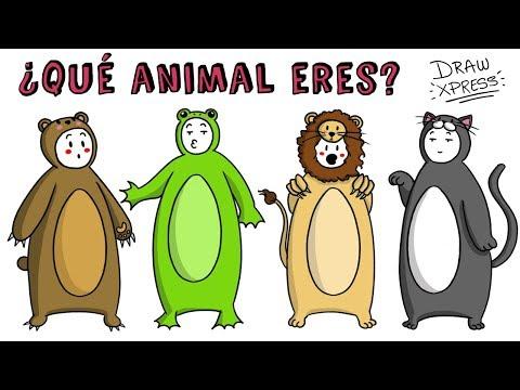 ¿QUÉ ANIMAL ERES? TEST | Draw My Life #tiktaktest