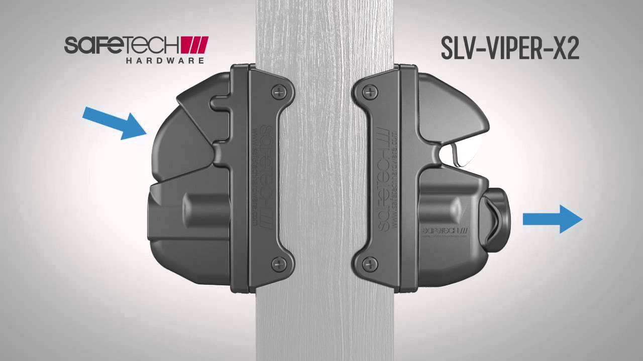 Vinyl Gate Hardware    Latches    Hinges From Safetech Hardware