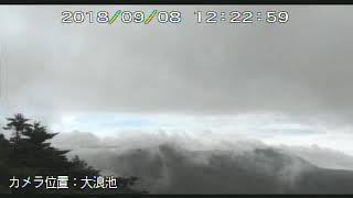 8/9/2018 WITA - Mt Shinmoedake 新燃岳 TimeLapse