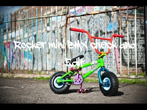 New Rocker Mini Bmx Bike Check Youtube