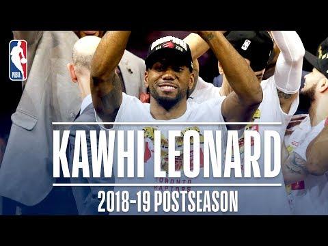Best Plays From Kawhi Leonard | 2019 NBA Postseason
