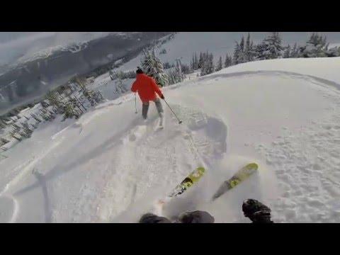 Whistler Powder skiing February 2016