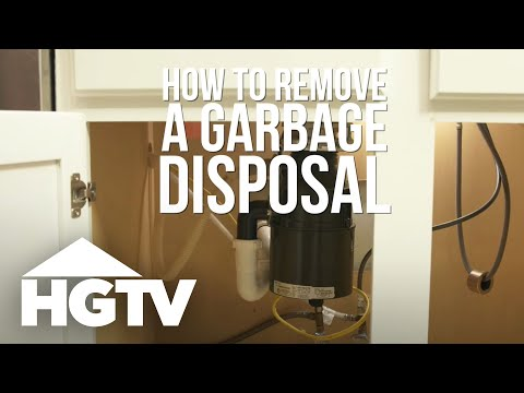 How to Remove a Garbage Disposal   HGTV