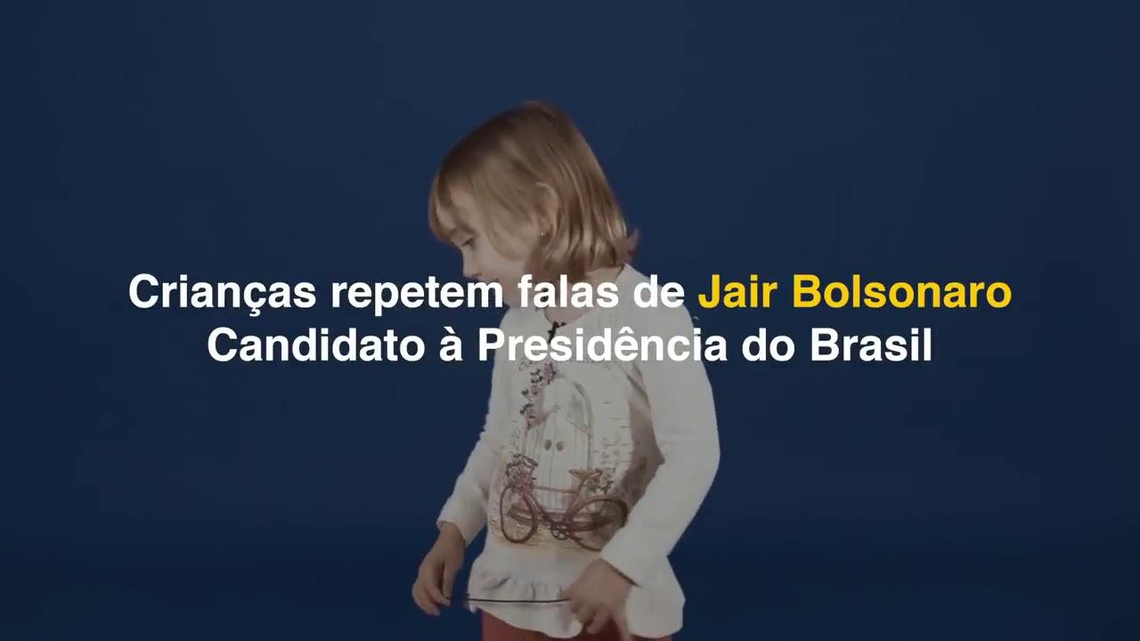 Frases De Bolsonaro Interpretadas Por Crianças