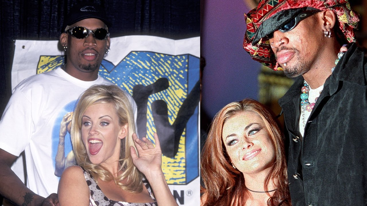 Dennis Rodman's Wild Dating History: From Madonna to Carmen Electra -  YouTube